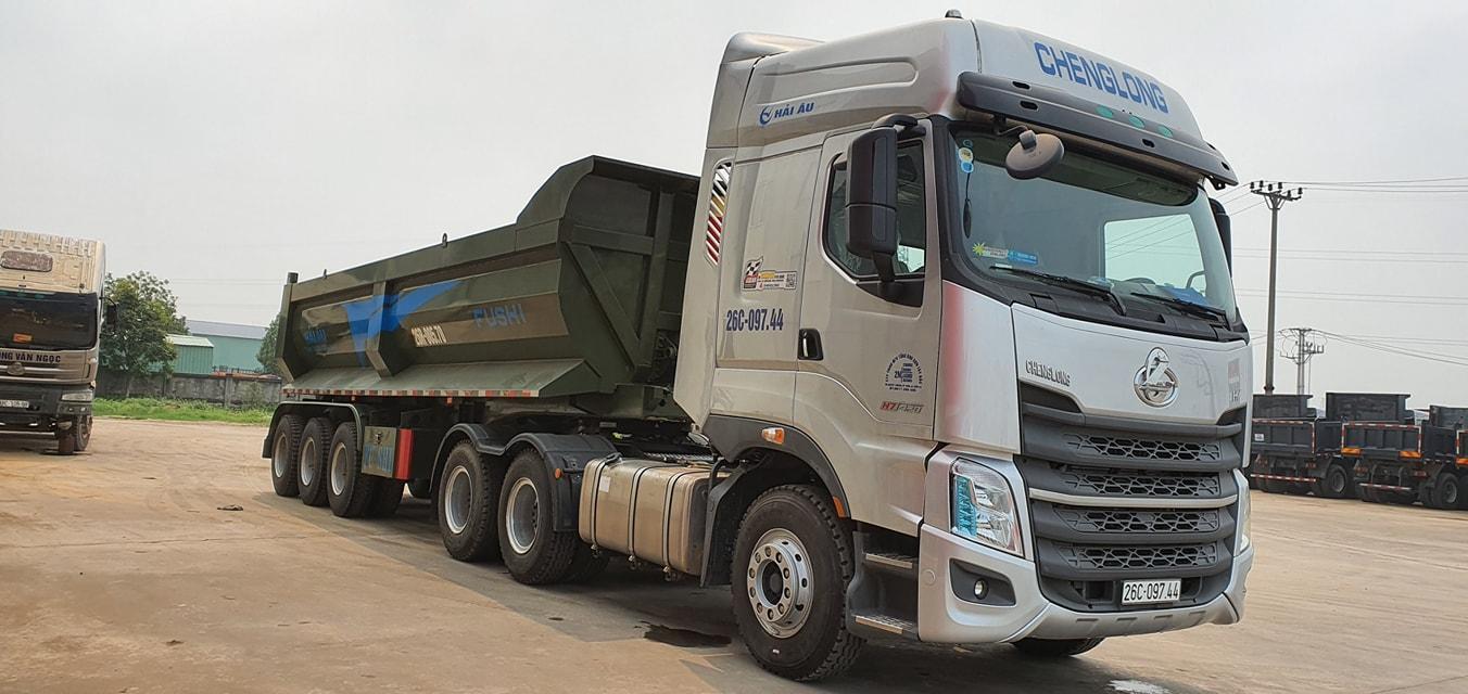 XE ĐẦU KÉO CHENGLONG H7 6x4 420HP (CẦU LÁP)