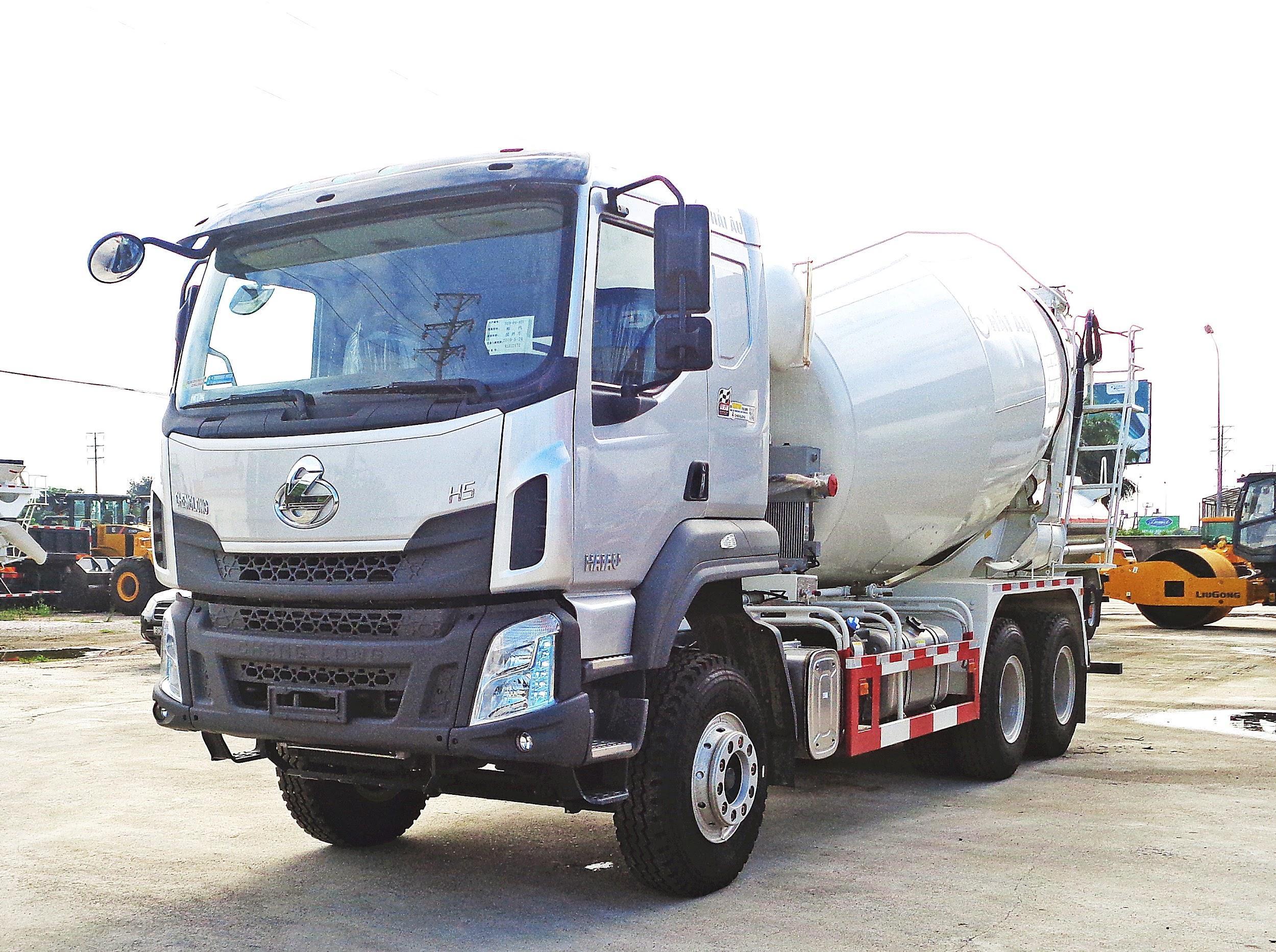 XE TRỘN BÊ TÔNG CHENGLONG 350HP 12M3